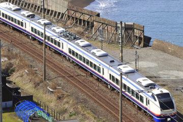 海岸沿い鉄道イメージ