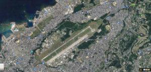 普天間飛行場 航空写真